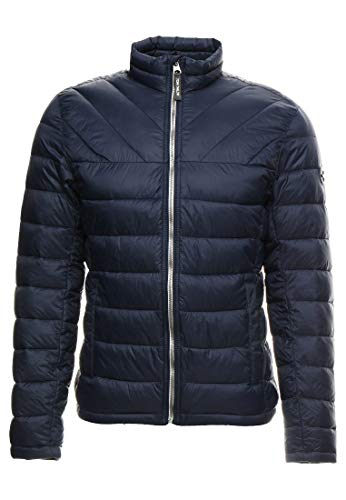 TOM TAILOR 35553110010 Leightweight Jacket Functional, Farbe: Marine, Gr. M