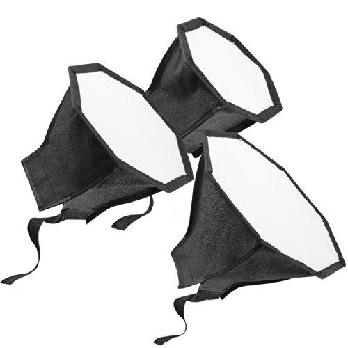 Walimex Octagon - Juego de Ventanas difusoras para Flashes