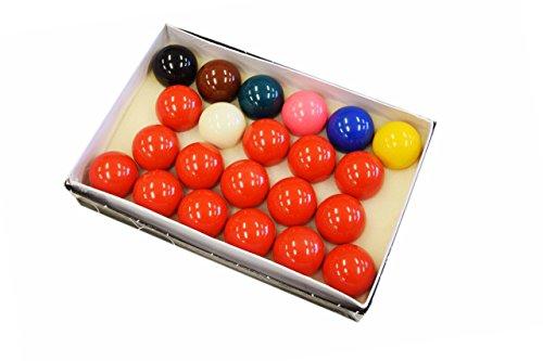Billiard Depot Snooker Ball Set, 2 1/16-Inch, Complete 22 Ball Set