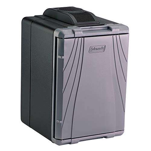 Coleman PowerChill Hot/Cold Portable Thermoelectric Cooler, 40 Quart , Gray