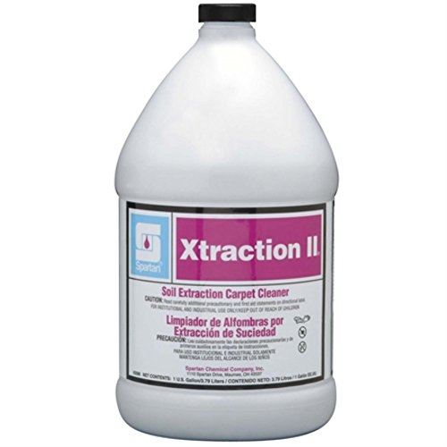 Spartan Contempo Xtraction II Carpet Cleaner, Gallons, 4 Per Case