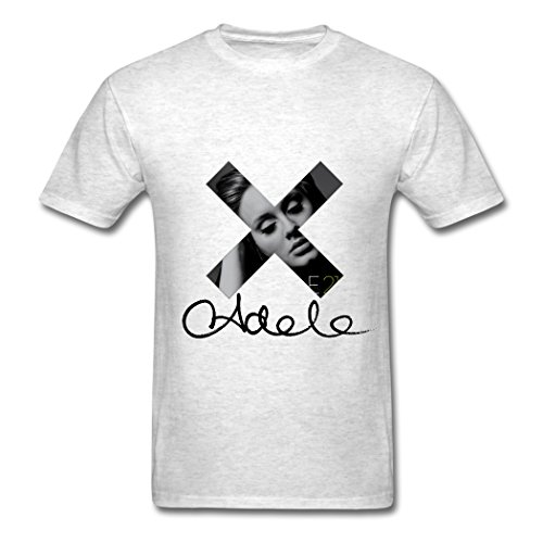 Ty Adele Firma T Shirt para Hombre Light Oxford