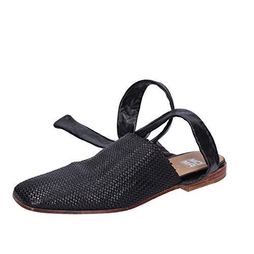 MOMA Sandalen Damen Leder schwarz 37 EU