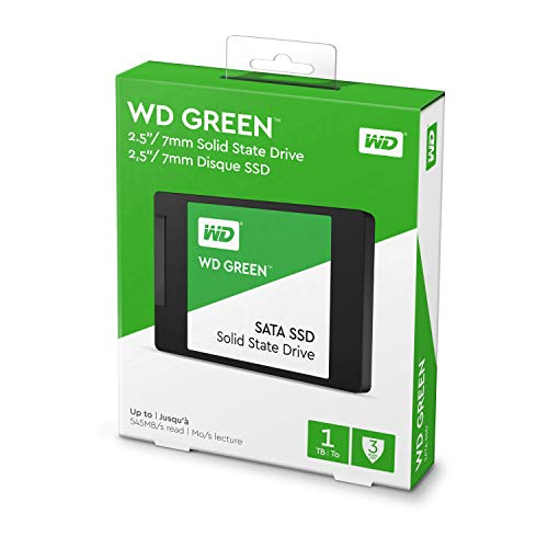 Western Digital SSD WD Green – 1 TB, SATA III, 2.5″,