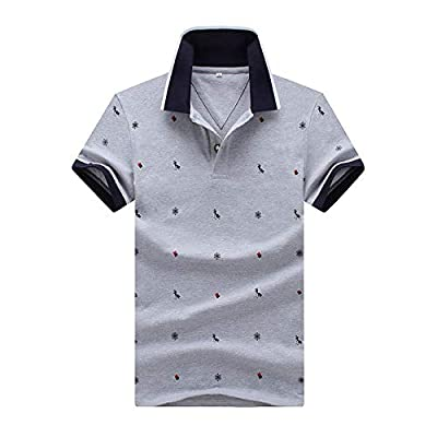 Herren Kurzarm Poloshirt Golf