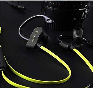 XuBa Universal Wireless Ear-Hook in Ear Headset Stereo Sports Headphone Yellow