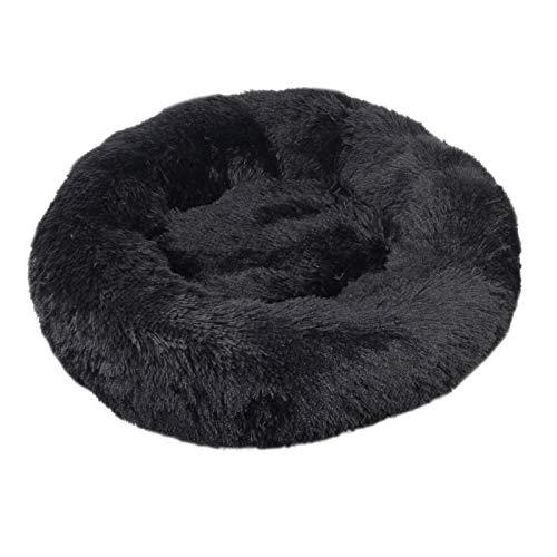 Cama de perro cómoda para mascotas con forma de donut redonda para perros y gatos, ultra suave, lavable, cojín para perros y gatos, sofá cálido de invierno (color: mediano, tamaño: XXXL 100 cm)