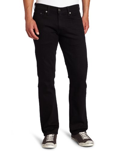 Levi's 00514-0211 Jeans, Black-Stretch, 38 W/32 L Homme