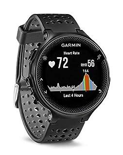 Garmin Forerunner 235 GPS Sportwatch con Sensore Cardio al Polso e Funzioni Smart, Cinturino in silicone, Nero/Grigio (B016ZWT64M) | Amazon price tracker / tracking, Amazon price history charts, Amazon price watches, Amazon price drop alerts