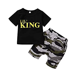 Baby Boy Clothes Tops Shorts Set Baby Clothes Boy Playwear Summer Toddler Boy Outfits