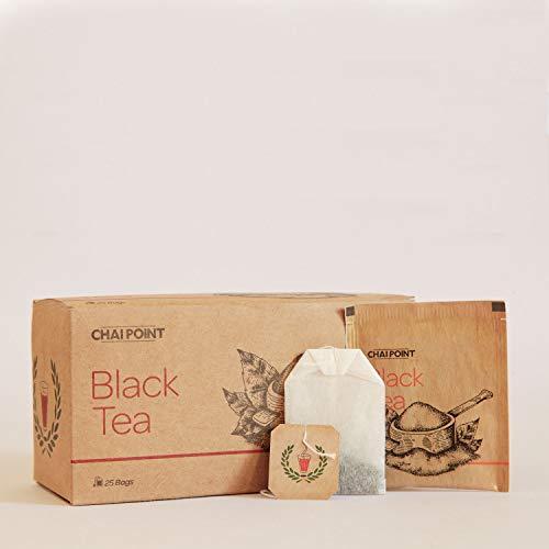 CHAI POINT Black Tea, 50 Tea Bags (Pack of 2) | 100% Natural, Flavorful, Strong Black Tea | Assam Tea Bags