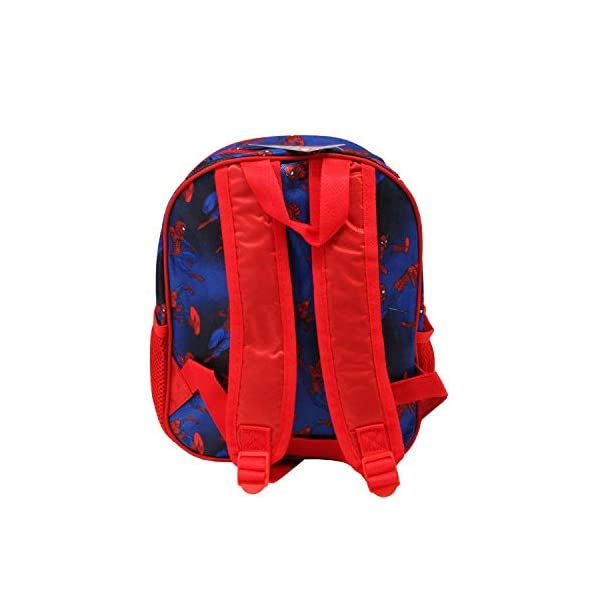 4128IEuVY2L. SS600  - Karactermania Spiderman Crawler - Mochila 3D Pequeña, Multicolor