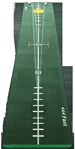 WXking Golf Setzendecke Faltbare Ballmatte Indoor Golf-Praxis-Gerät, Golf Green Simulator für Training Family Party 300 * 50cm Geschenk für Zuhause, Büro, Outdoor-Gebrauch