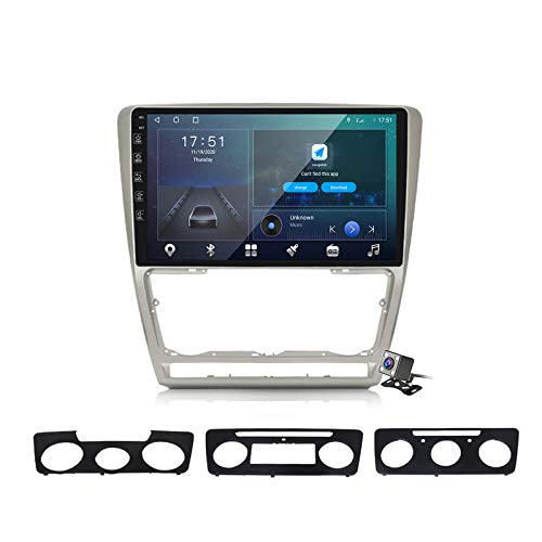 Android 10 Car Radio de Navegación GPS para Skoda Octavia 2 2008-2013 con 10,1 Pulgada Táctil Support 5G FM Am RDS/DSP MP5 Player/Steering Wheel Control/Carplay,M600