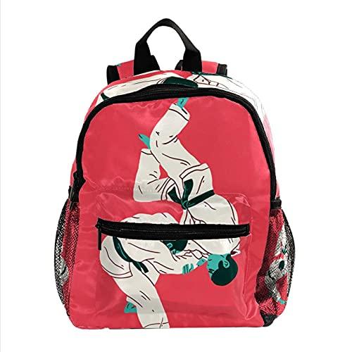 ColorMu Borsa mini zaino per borsa da viaggio da donna Taekwondo Wrestling. per lavoro, scuola, all'aperto