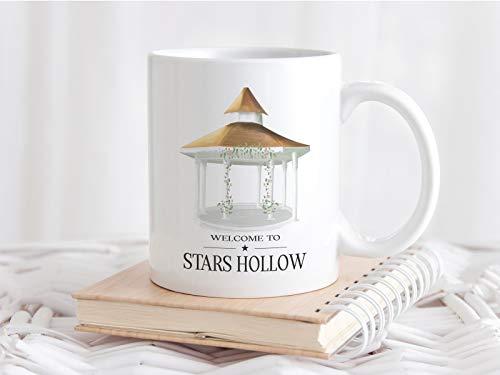 Tachinedas Kreativshop Gilmore Girls Tasse Stars Hollow Stadtpavillon