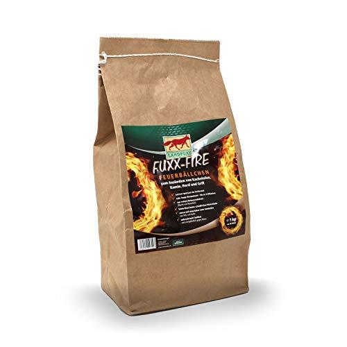 Fuxx Fire Feuerbällchen zum Anzünden von Kachelofen,Kamin,Herd und Grill - 1kg ca. 80 Stück