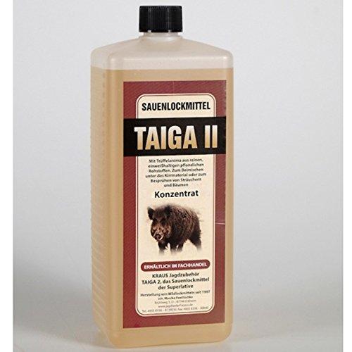 Atrayente de jabalíes profesional con aroma de trufa Taiga 100 ml concentrado muy productivo = 1 litro de atrayente natural para jabalíes