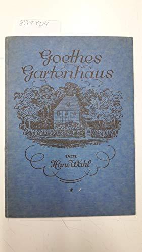 Goethes Gartenhaus.