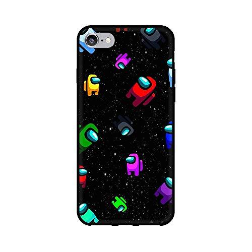 通用 Among Us iPhone 7/8 Funda Carcasa Suave Silicona Case Cover para Apple iPhone 7/8 Among us