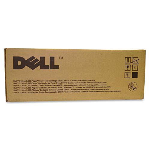 Dell Tonerkassette mit Standard-Kapazität 3.000 Seiten für Dell 3130cn Farb-Laserdrucker Cyan