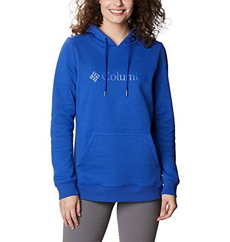 Columbia Sudadera con Capucha para Mujer, Color Azul Lapislázuli