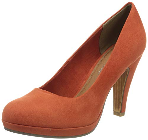 MARCO TOZZI Damen 2-2-22424-34 Plateaupumps, Orange (Terracotta 625), 37 EU