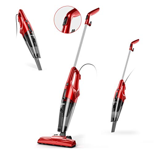 Corded Stick Vacuum, APOSEN 600W Strong Suction...