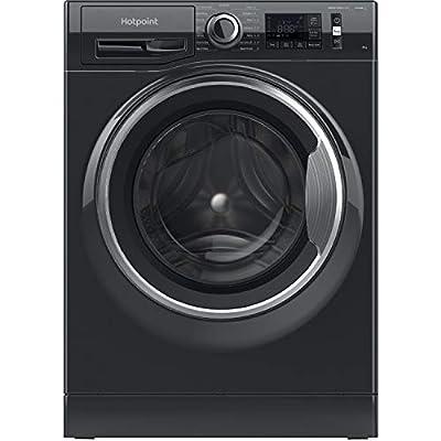 Hotpoint NM11 945 BC A UK N Freestanding Washing Machine 9KG 1400RPM Black