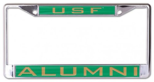 WinCraft University of South Florida USF Alumni License Plate Frame Inlaid Metal