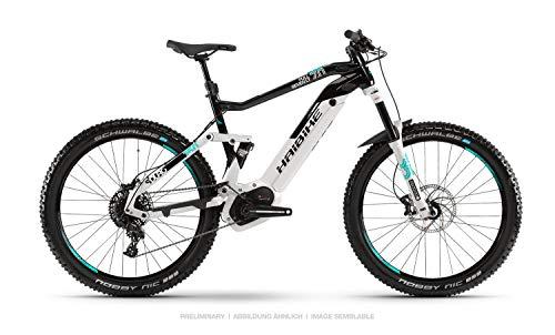 Haibike Sduro FullSeven LT 7.0 27.5'' Pedelec E-Bike MTB grau/schwarz/türkis 2019: Größe: XL*
