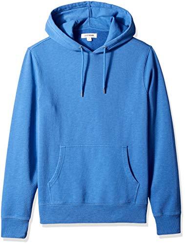 Marca Amazon - Goodthreads – Sudadera con capucha de forro polar para hombre, Azul (blue), US L (EU L)