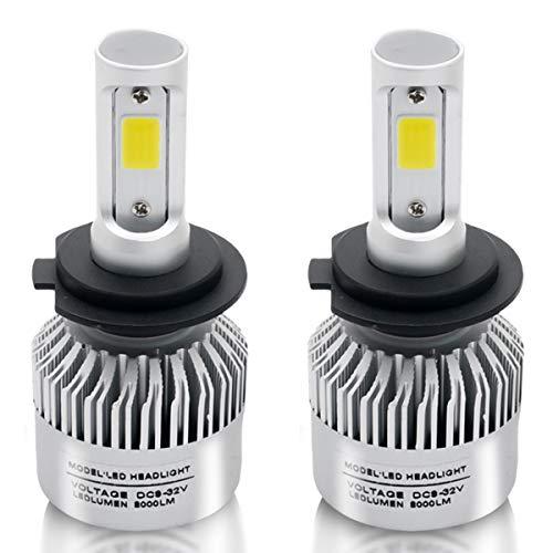 Ampoules de phare LED H11 H9 H8 Kit de conversion Maso pour phares LED 72 W/paire 6000 K 8000 lm super lumineux COB puces