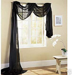 Best sheer black curtains with valance Reviews