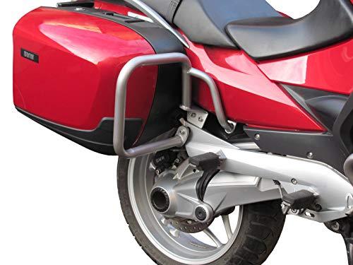 Trasero Defensa Protector de Motor Heed para Motocicletas R 1200 RT (2005-2013) - Plata