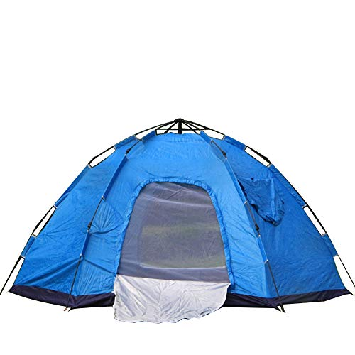 GXCX Yurt-style tent new outdoor automatic camping camping travel leisure tent quick opening easy to install holiday dome tent awning for 2/3 people blue
