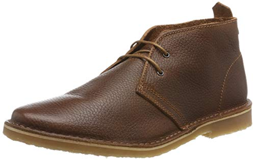 JACK & JONES Herren JFWGOBI Leather Desert Boots, Braun (Brown Stone Brown Stone), 40 EU
