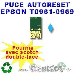 Auto-Reset - Chip para Epson Foto cian T0965