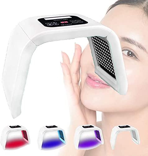 LXNQG 4 colores PDT LED Lámpara de fotones, pantalla táctil para blanquear el cuidado de la piel de la piel Equipo de belleza, la piel de rejuvenecimiento de la piel ligera Terapia de cuidado de la pi