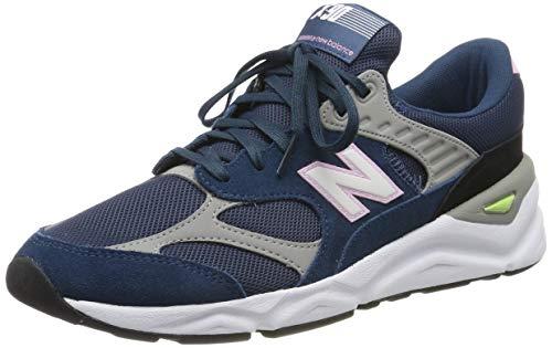 New Balance Herren X-90 Sneaker, Blau (North Sea/Team Away Grey Cd), 42.5 EU