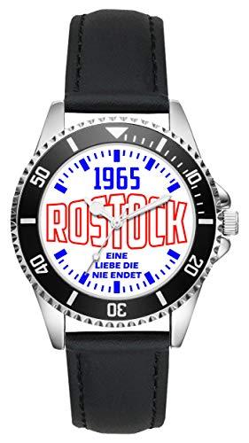 Rostock Geschenk Artikel Idee Fan Uhr L-6092