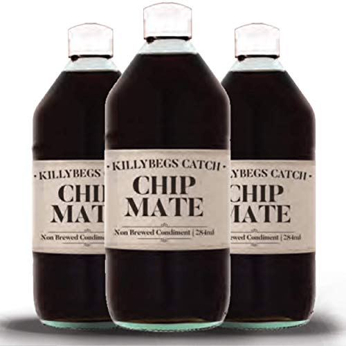 Chip Mate – condimento no elaborado – Vinagre de alta calidad Chip Shop – 3 botellas...