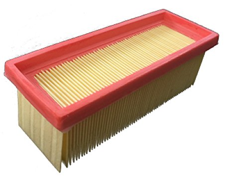 1x Filter passend für Kärcher - K 2501 / K 2501 TE/K 2601 plus/K 3001 / NT 181 profi/SE 2001/ SE 3001 / SE 5100 / SE 6100