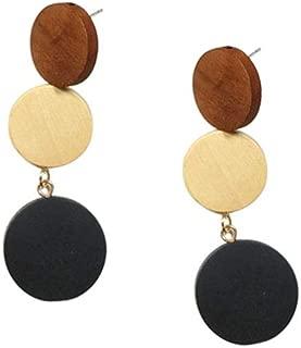 Amazon.es: madera - Pendientes / Mujer: Joyería