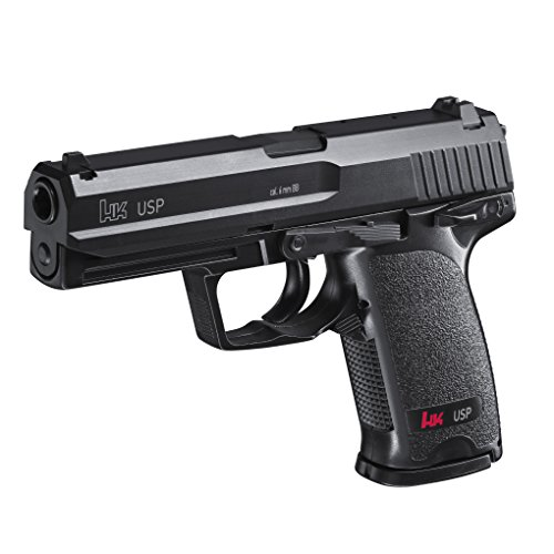 HECKLER & KOCH Softair USP schwarz mit Maximum 0.5 Joule, 2.5926