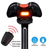 G Keni Bike Tail Light Rechargeable, Anti-Theft Alarm, Warning Electric Horn, Bike Finder/Tracker...