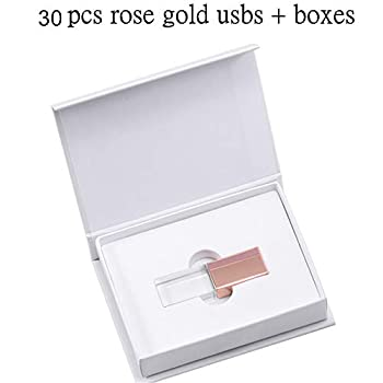 rose gold flash drive