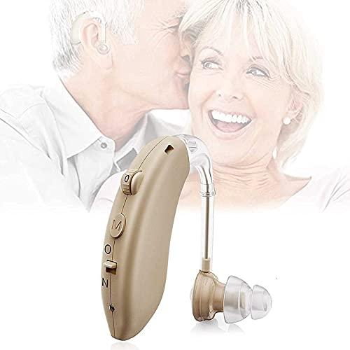 JXWANG fonos para Sordera - Amplificador De Sonido Personal - Impermeable Amplificador De Sonido Personal