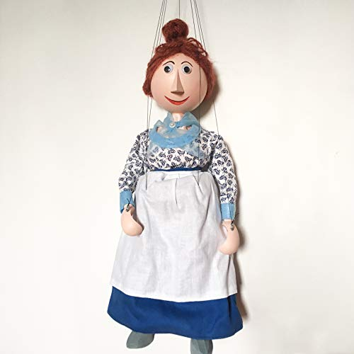 Augsburger Puppenkiste Frau Waas aus Jim Knopf Marionette