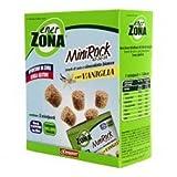 ENERZONA - MINIROCK 40-30-30 CON VANIGLIA - 1 CONFEZIONE DA 5 MINIPACK DA 24 g. Snack di s...